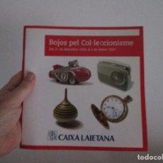 Libros: BOJOS PEL COL LECCIONISME = EN CATALAN. Lote 122913787