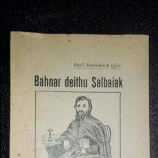 Libros: EUSKERA. TRADUCCIÓN AL EUSKERA. LIBRO VASCO.. Lote 125114895