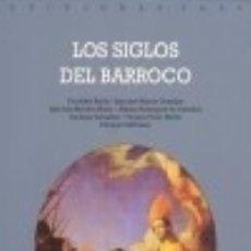 Libros: HISTORIA DEL ARTE ESPAÑOL TOMO II: LOS SIGLOS DEL BARROCO. Lote 70829047