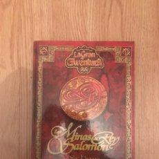 Libros: LAS MINAS DEL REY SALOMON - HENRY RIDER HAGGARD - EDICIONES RUEDA 2003 - COLECCION LA GRAN AVENTURA. Lote 128150496