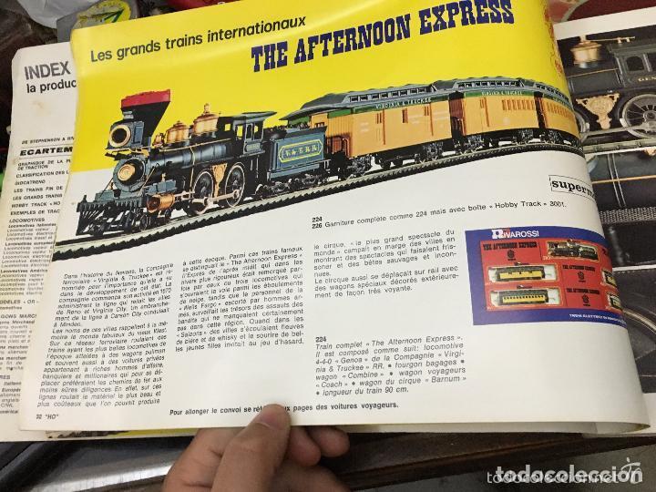 Libros: LIBRO LES CHEMINS DE FER ET LEUR HISTOIRE RACONTE PAR LES MODELES REDUITS - EDITION REVAROSSI - Foto 6 - 128731111