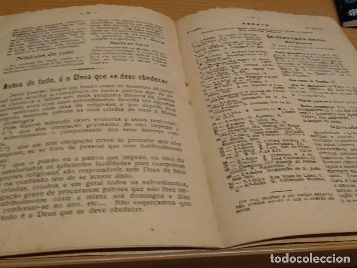 Libros: LISBOA - AÑO 1955 - ALMANAQUE DE SANTA ZITA - VER FOTOS - Foto 8 - 134199870