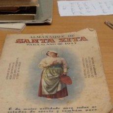 Libros: LISBOA - AÑO 1955 - ALMANAQUE DE SANTA ZITA - VER FOTOS. Lote 134199870