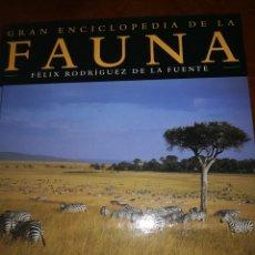 Libros: ENCICLOPEDIA DE LA FAUNA DE FELIX RODRIGEZ DE LA FUENTE 29 TOMOS Y DVD. Lote 135081206