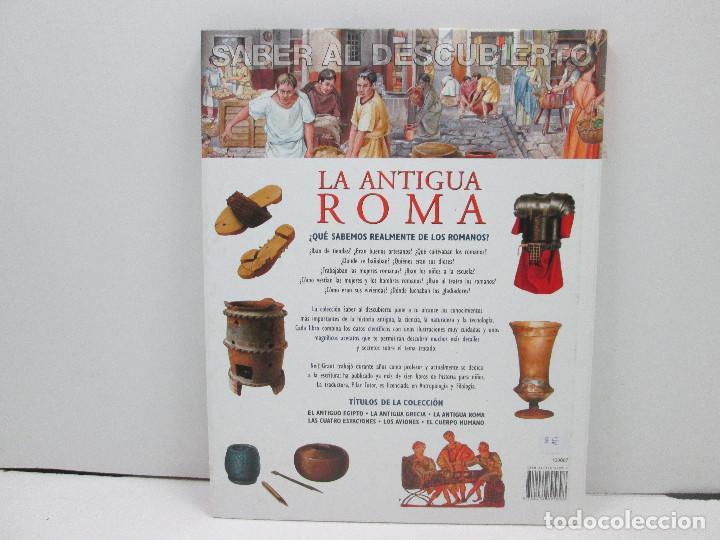 Libros: LIBRO LA ANTIGUA ROMA AL DESCUBIERTO - NEIL GRANT - TAPA DURA - Foto 2 - 135663263