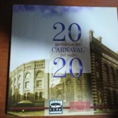 Libros: 20 GADITANOS DEL CARNAVAL DEL SIGLO 20. Lote 135714015