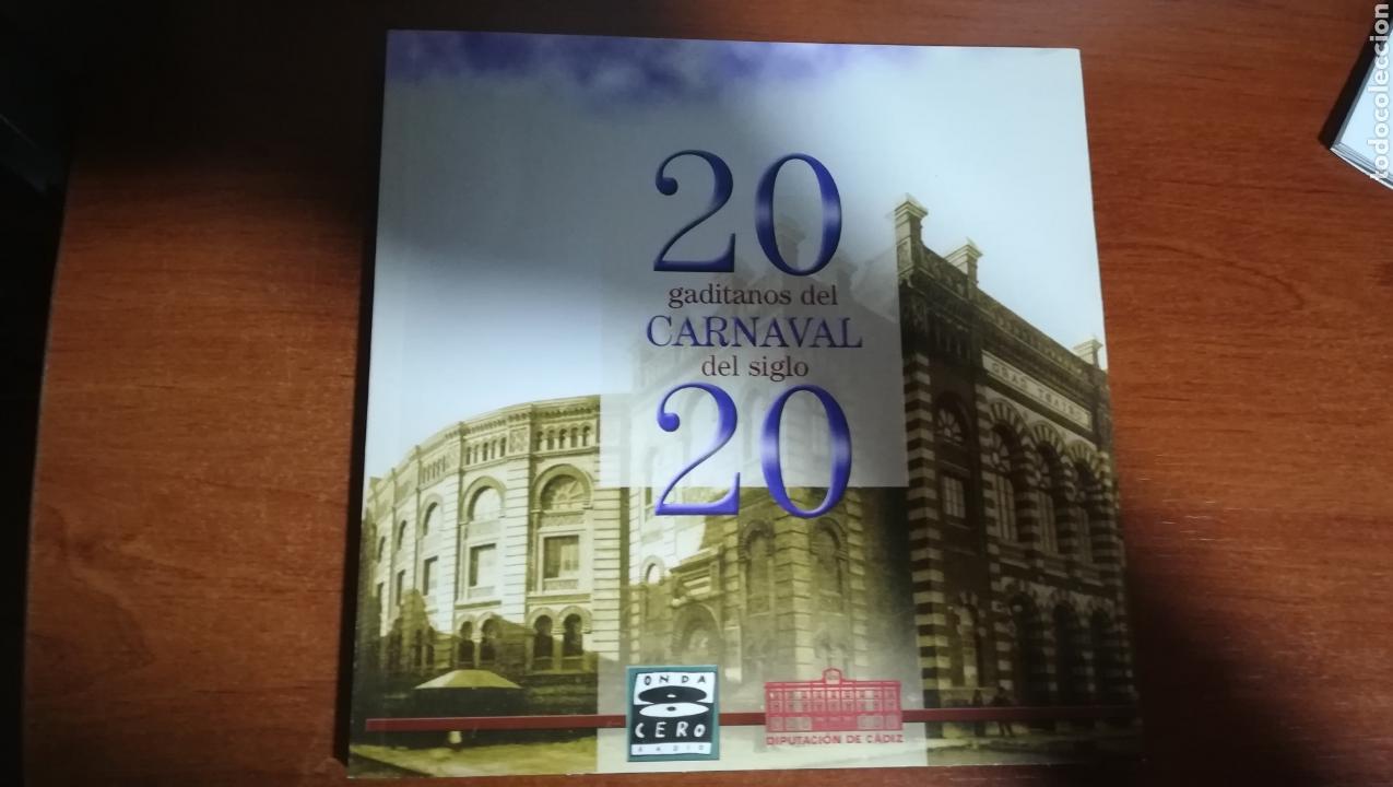 20 GADITANOS DEL CARNAVAL DEL SIGLO 20 (Libros Nuevos - Bellas Artes, ocio y coleccionismo - Otros)
