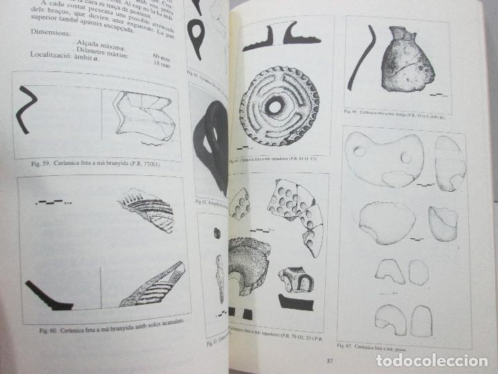Libros: LIBRO EL POBLAT PROTOHISTORIC DE PUIG ROIG DEL ROGET - CATALA - Foto 3 - 135762330