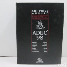 Libros: LIBRO ART PRICE ANNUAL INTERNATIONAL & FALK'S ART PRICE INDEX ADEC 98. Lote 135772534
