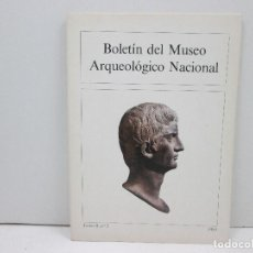 Libros: LIBRO BOLETIN DEL MUSEO ARQUEOLOGICO NACIONAL TOMO II, Nº2 AÑO 1984. Lote 135773158