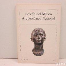 Libros: LIBRO BOLETIN DEL MUSEO ARQUEOLOGICO NACIONAL TOMO II, Nº1 AÑO 1984. Lote 135773454