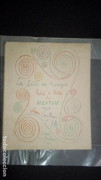 COCTEAU. LA SALLE DES MARIAGES. HOTEL DE VILLE DE MENTON .ILUSTRACIONES EN B/N. (Libros Nuevos - Bellas Artes, ocio y coleccionismo - Otros)