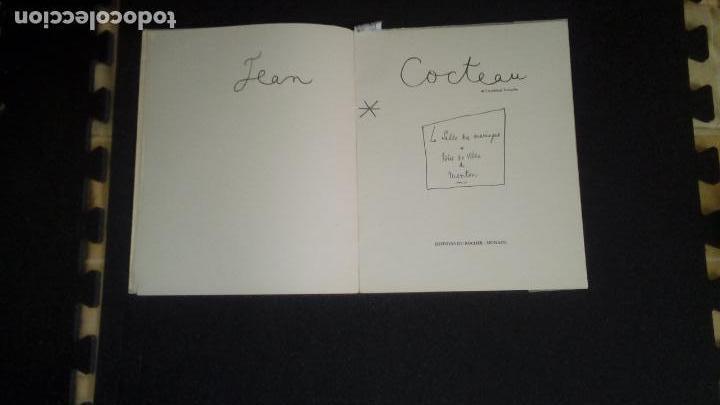 Libros: Cocteau. La Salle des Mariages. Hotel de Ville de Menton .Ilustraciones en b/n. - Foto 5 - 138533022