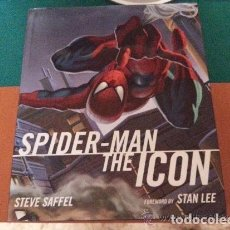 Libros: IMPRESIONANTE LIBRO - SPIDERMAN THE ICON DE STAN LEE- LIBRO AMERICANO - TITAN BOOK 2007 - COMO NUEVO. Lote 140453698
