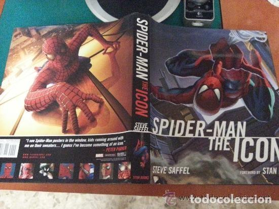 Libros: IMPRESIONANTE LIBRO - SPIDERMAN THE ICON DE STAN LEE- LIBRO AMERICANO - TITAN BOOK 2007 - COMO NUEVO - Foto 12 - 140453698