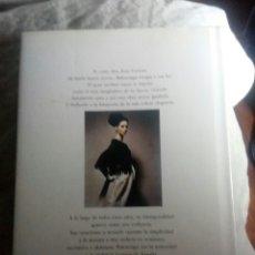 Libri: BALENCIAGA -MARIE ANDREE JOUVE. Lote 141196264