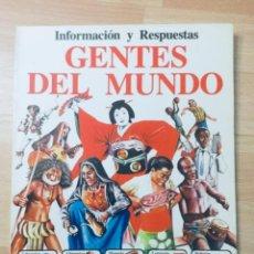 Libros: GENTES DEL MUNDO. EDICIONES PLESA. AÑO: 1979. Lote 141704198