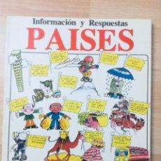 Libros: PAÍSES. EDICIONES PLESA. AÑO: 1979. Lote 141704674