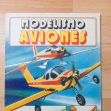 Libros: MODELISMO DE AVIONES. EDICIONES PLESA. AÑO: 1980. Lote 141705994
