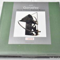 Libros: JULIO GONZÁLEZ, MARÍA DOLORES JIMÉNEZ-BLANCO. Lote 137659122