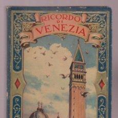 Libros: RICORDO DI VENEZIA 64 VEDUTE UNA PANORAMA ESCRITO EN ITALIANO 72 FOTO LE2761. Lote 143973026