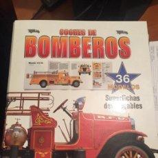 Libros: ARCHIVADOR COCHES DE BOMBEROS EN TAPA DURO.. Lote 144836242