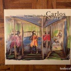 Libros: LAS FOTOGRAFÍAS PINTADAS DE CARLOS SAURA - NUEVO PRECINTADO. Lote 145112794