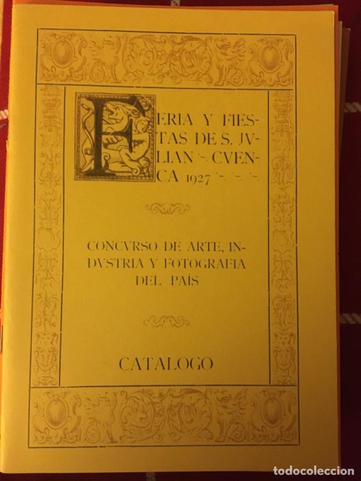 CATÁLOGO WIFREDO LAM, MARCO PÉREZ...1927 CUENCA (Libros Nuevos - Bellas Artes, ocio y coleccionismo - Otros)