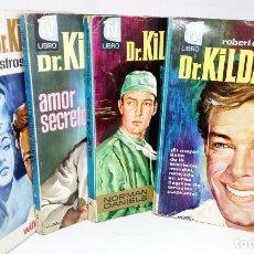Libros: DR. KILDARE LIBRO TV EDITORIAL BRUGUERA 1964 *** LOTE 4 LIBROS. Lote 145545946