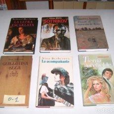 Libros: LOTE DE 6 LIBROS. Lote 146245250