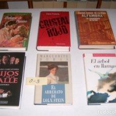 Libros: LOTE DE 6 LIBROS. Lote 146245358