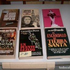 Libros: LOTE DE 6 LIBROS. Lote 146245898