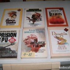 Libros: LOTE DE 6 LIBROS. Lote 146245958