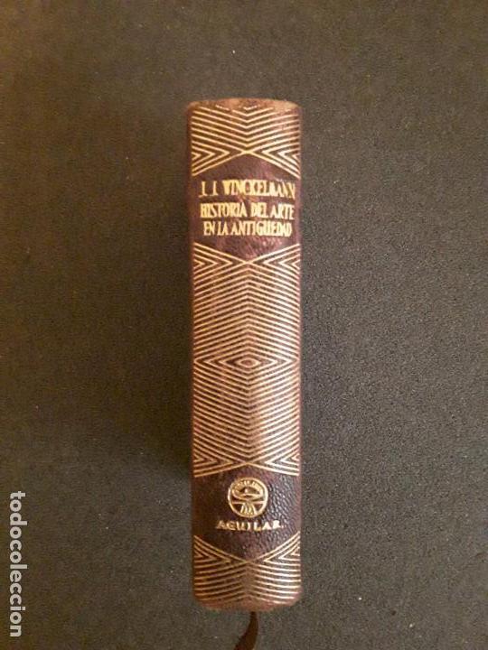 Libros: Winckelmann, Joanne Joachim. Historia del arte en la Antigüedad … Análisis de diversas teorías. - Foto 2 - 146265490