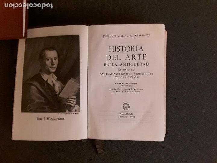 Libros: Winckelmann, Joanne Joachim. Historia del arte en la Antigüedad … Análisis de diversas teorías. - Foto 3 - 146265490