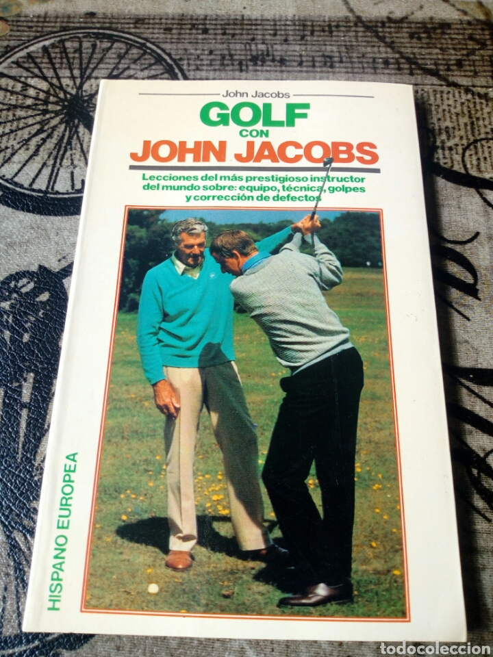 Libros: Golf con John Jacobs Hispano Europea - Foto 1 - 147176437