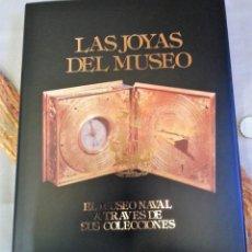 Libros: LIBRO EL MUSEO NAVAL A TRAVÉS DE SUS COLECCIONES. Lote 147873078