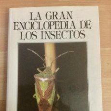 Libros: LA GRAN ENCICLOPEDIA DE LOS INSECTOS. NUEVO. Lote 148071310
