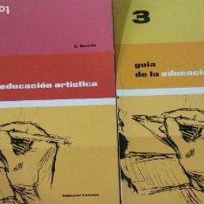 Libros: GUÍA DE LA EDUCACIÓN ARTÍSTICA - TOMOS 2 Y 3 - A. BOZZOLA - ED. EVEREST (ILUST). Lote 150224538