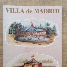 Libros: VILLA DE MADRID , . Lote 150421238