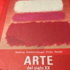 Libros: ARTE DEL SIGLO XX. Lote 150665004