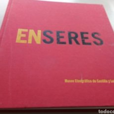 Libros: ENSERES. MUSEO ETNOGRAFICO DE CASTILLA Y LEÓN. ZAMORA.. Lote 151692377