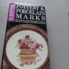 Libros: POTTERY&PORCELAIN MARKS-G. LANG. Lote 151929696