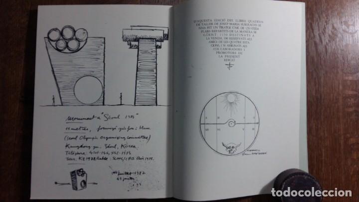 Libros: Quadern de Taller 1954 - 1987 de Josep Pedreira. Vic, 1987 - Foto 3 - 155995634