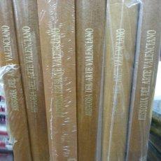 Libros: HISTORIA DEL ARTE VALENCIANO. NUEVA! 6 TOMOS( COMPLETA) EDICIÓN 1986. Lote 156645214