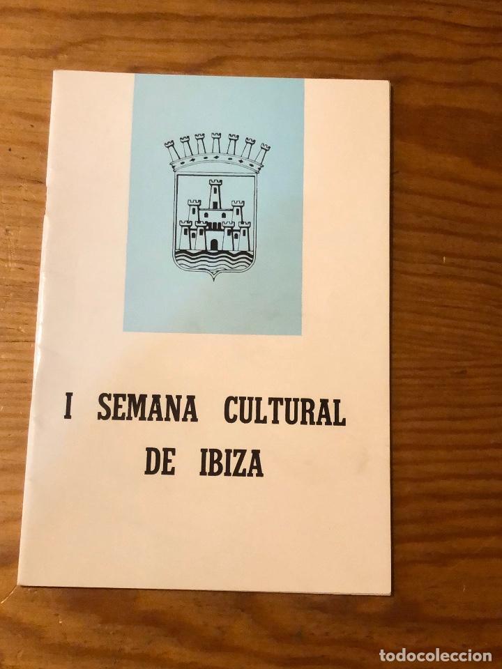 SEMANA CULTURAL DE IBIZA-3CUADERNOS-(33€) (Libros Nuevos - Bellas Artes, ocio y coleccionismo - Otros)