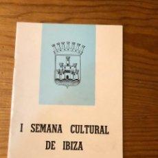 Libros: SEMANA CULTURAL DE IBIZA-3CUADERNOS-(33€). Lote 157386006