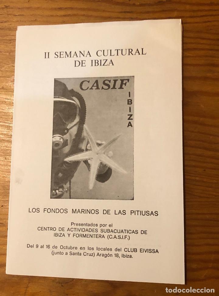 Libros: Semana cultural de Ibiza-3CUADERNOS-(33€) - Foto 2 - 157386006
