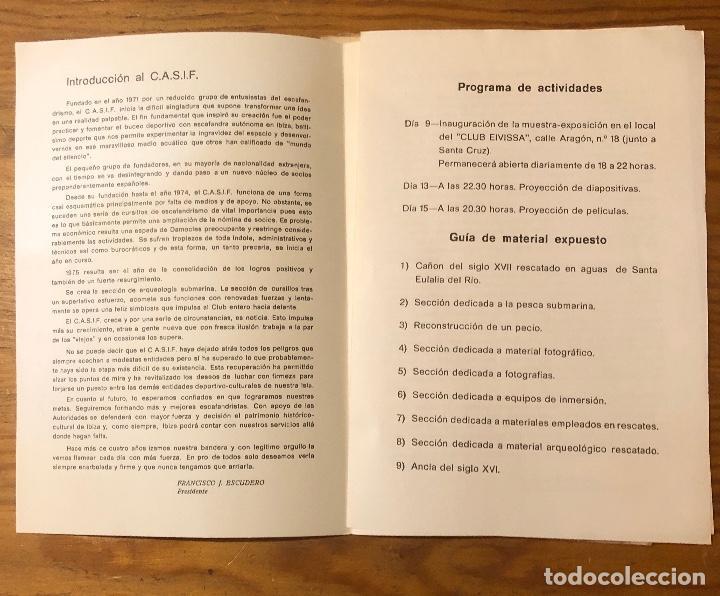 Libros: Semana cultural de Ibiza-3CUADERNOS-(33€) - Foto 7 - 157386006