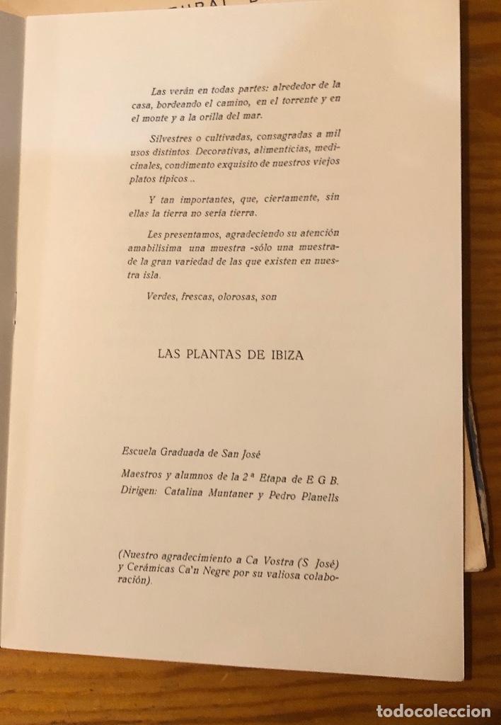 Libros: Semana cultural de Ibiza-3CUADERNOS-(33€) - Foto 8 - 157386006